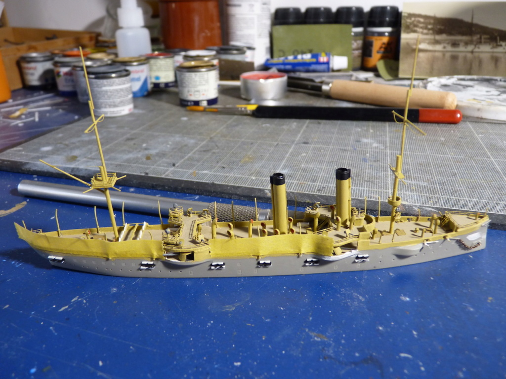 USS Chicago - croiseur protégé 1/700 COMBRIG - Page 3 P1110917