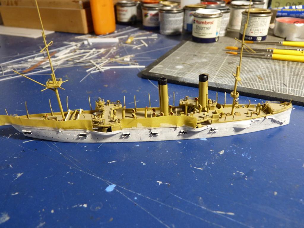 USS Chicago - croiseur protégé 1/700 COMBRIG - Page 3 P1110918