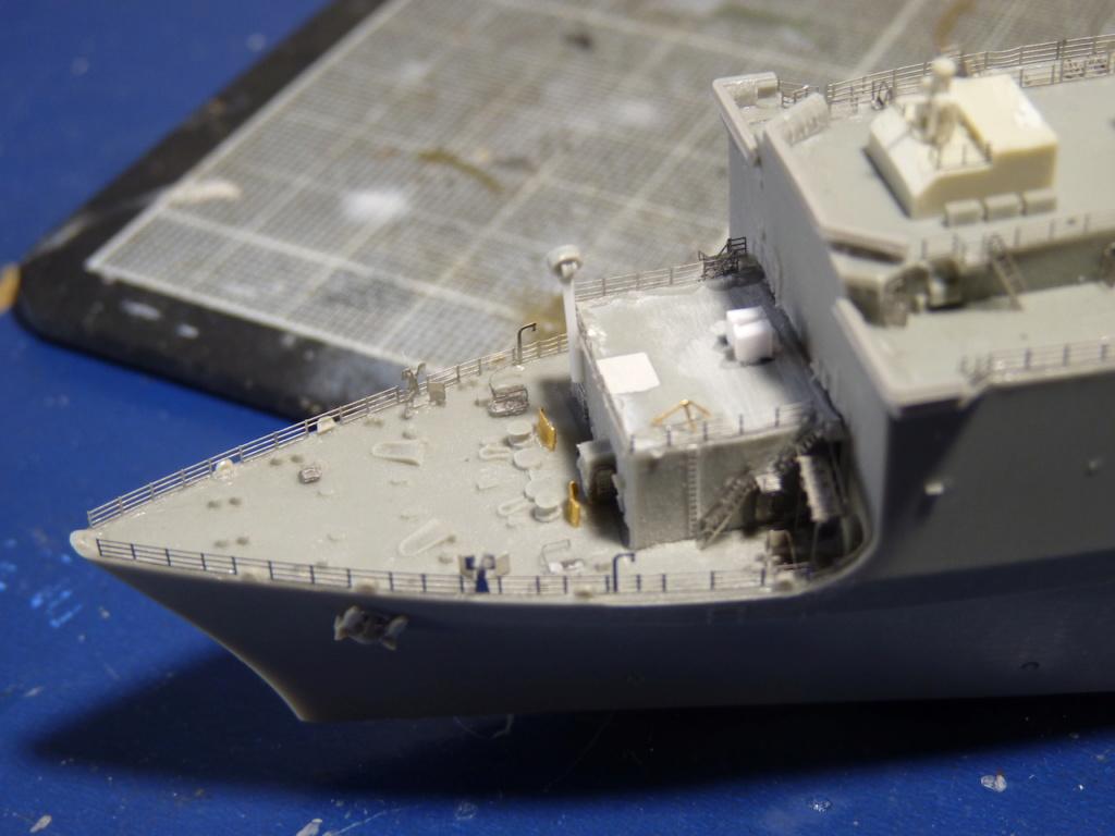 USS Tortuga - LSD 46 1/700 ORANGE HOBBY   P1110931