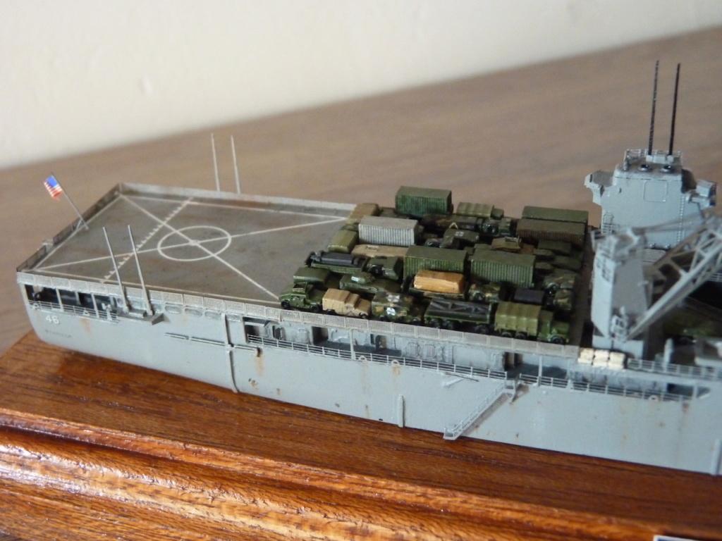 USS Tortuga - LSD 46 1/700 Orange Hobby   P1110956