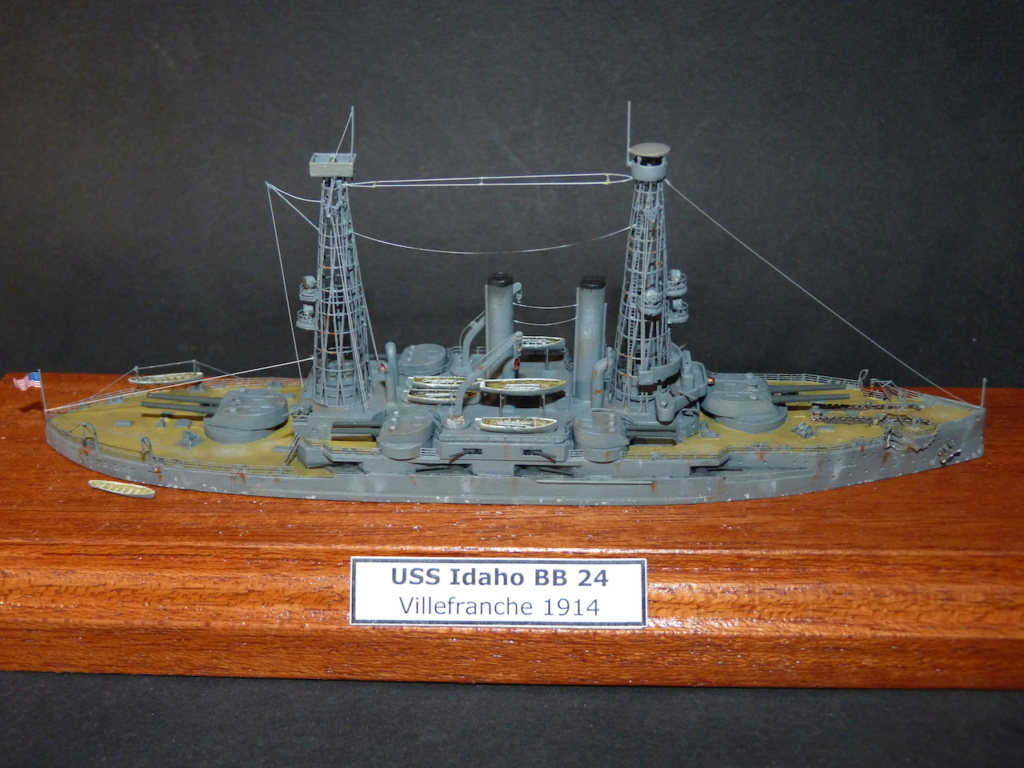 USS Idaho - BB 24 1/700 Samek   P1110987
