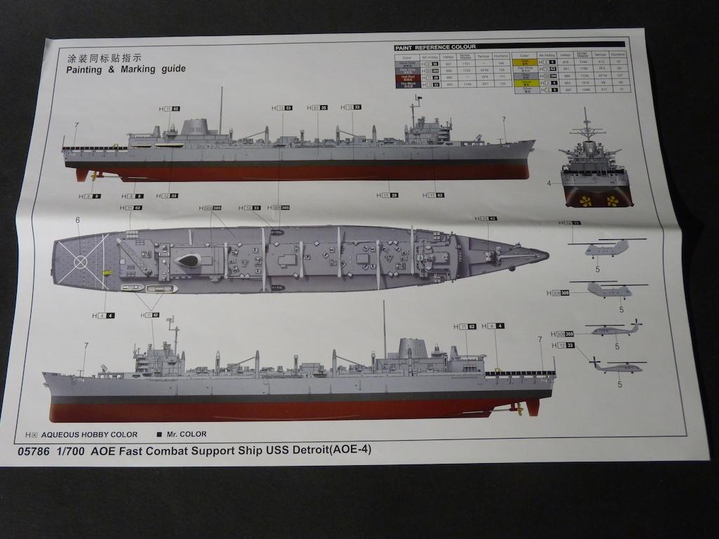 USS Seattle - AOE 3 1/700 TRUMPETER   P1120133
