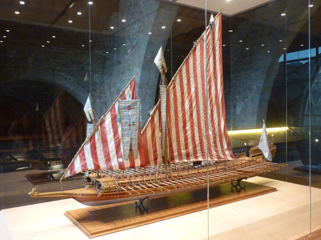 Musée Maritime de Barcelone ....et quelques surprises. P1130113