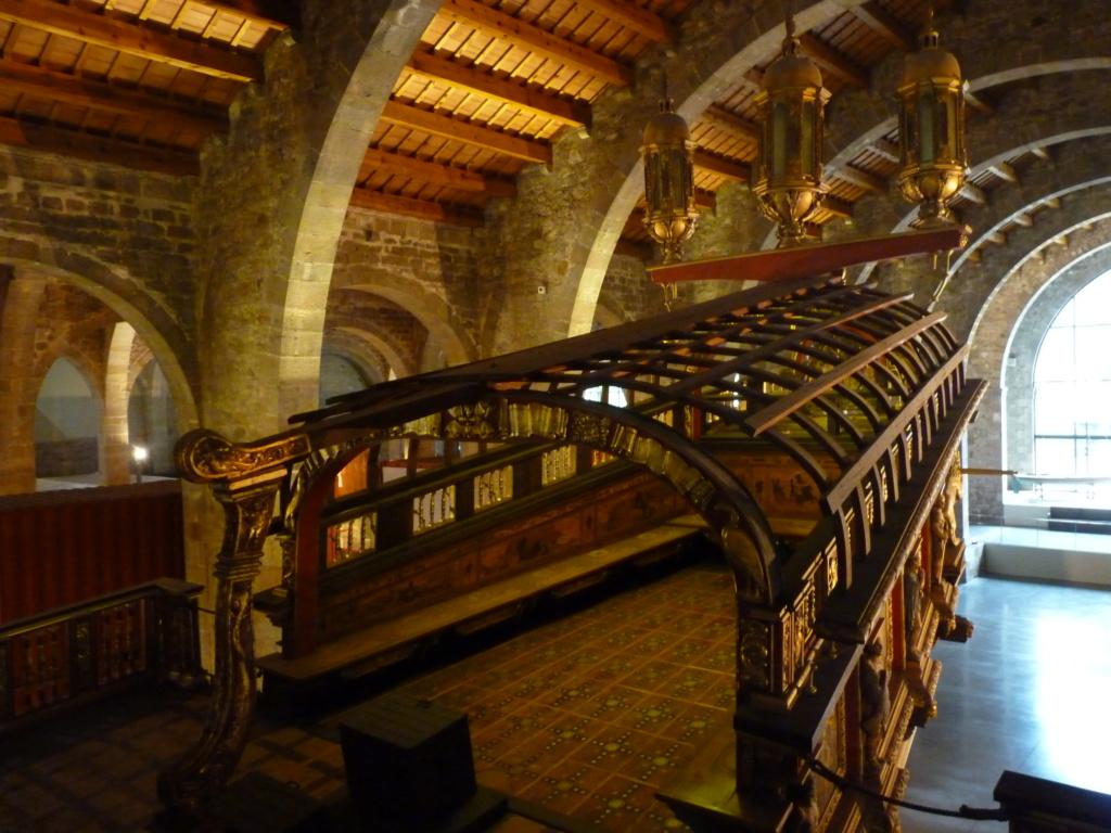 Musée Maritime de Barcelone ....et quelques surprises. P1130116