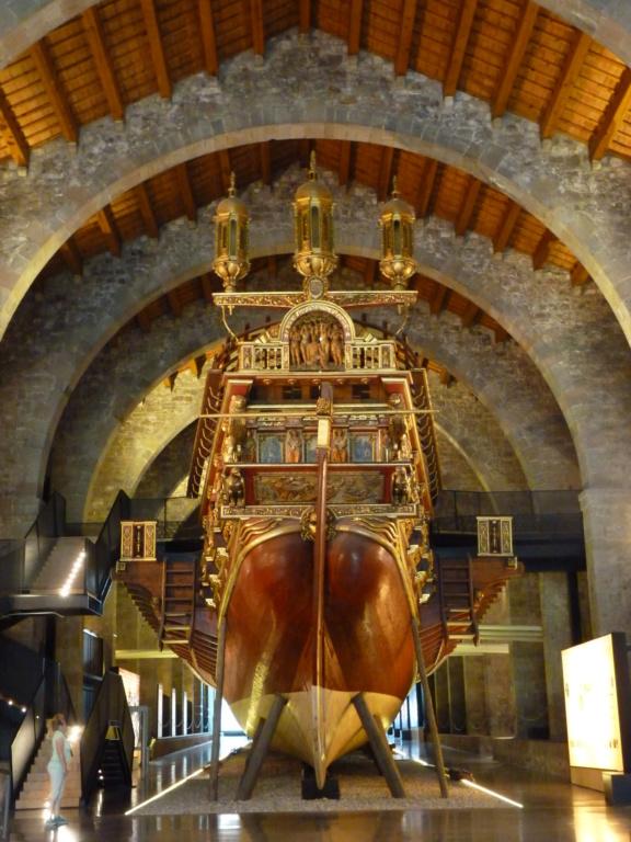 Musée Maritime de Barcelone ....et quelques surprises. P1130119