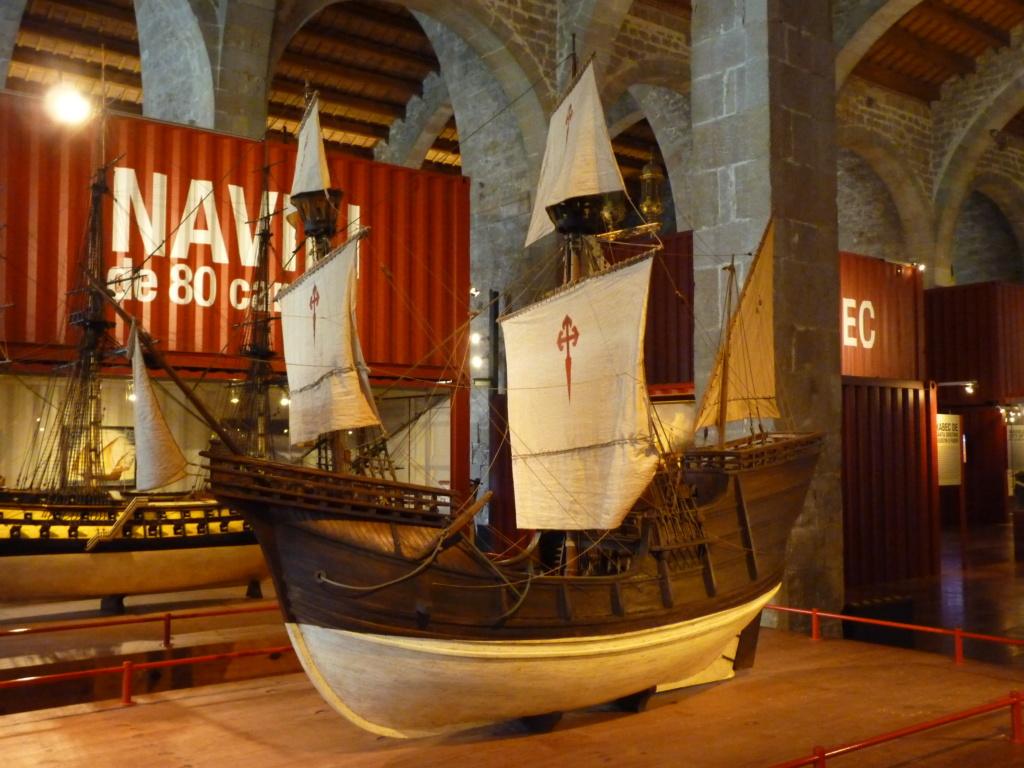 Musée Maritime de Barcelone ....et quelques surprises. P1130125