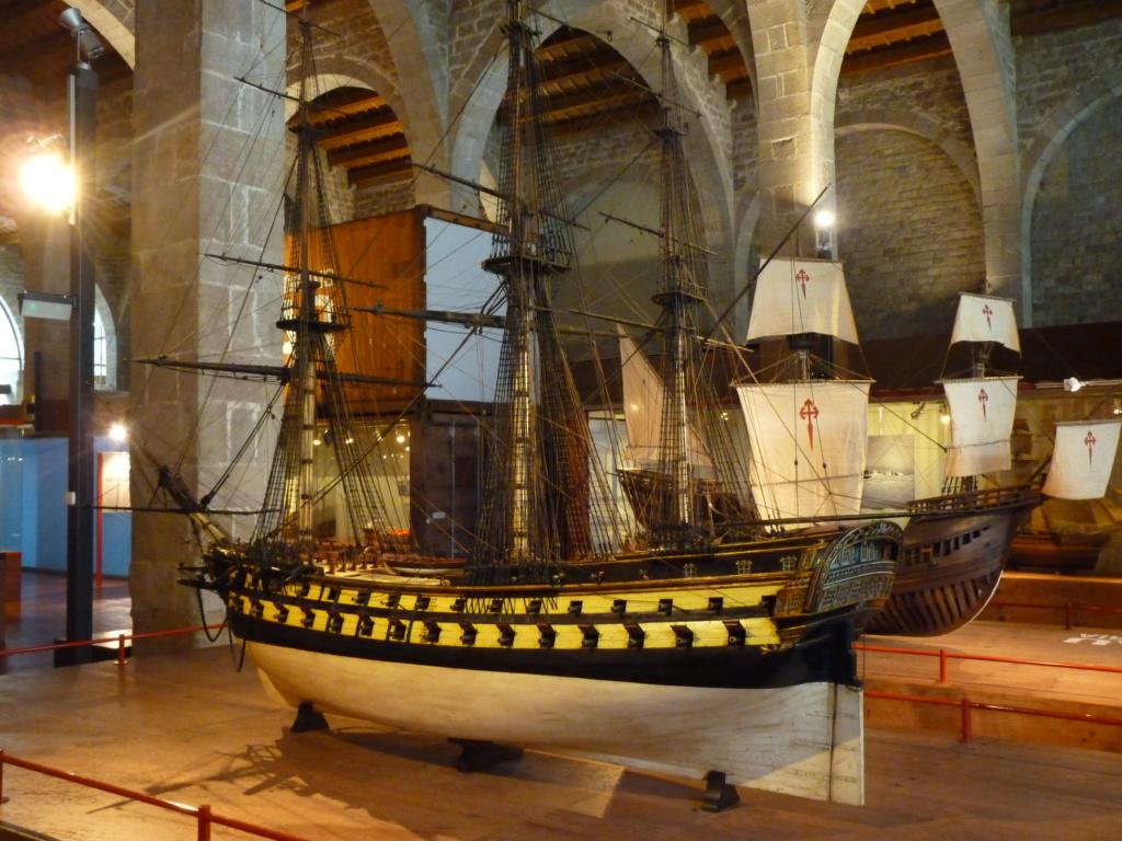 Musée Maritime de Barcelone ....et quelques surprises. P1130126