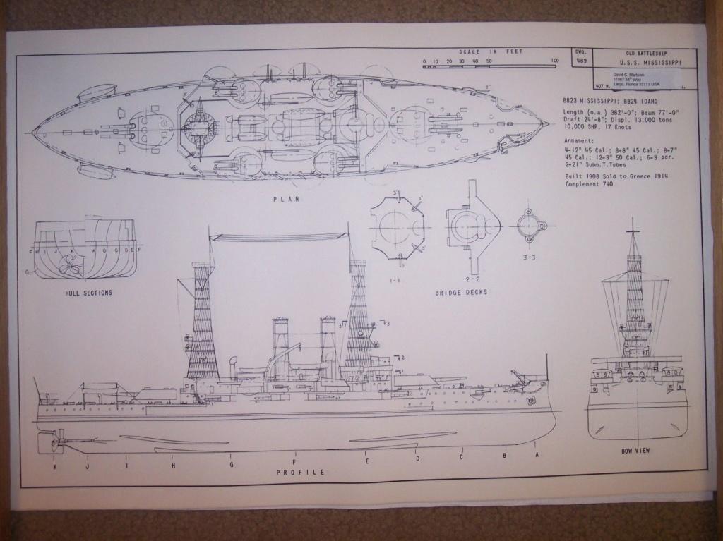 USS Idaho - BB 24 1/700 SAMEK   S-l16011