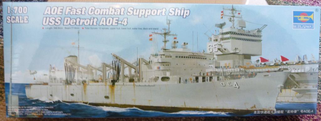 USS Seattle - AOE 3 1/700 TRUMPETER   S-l16013