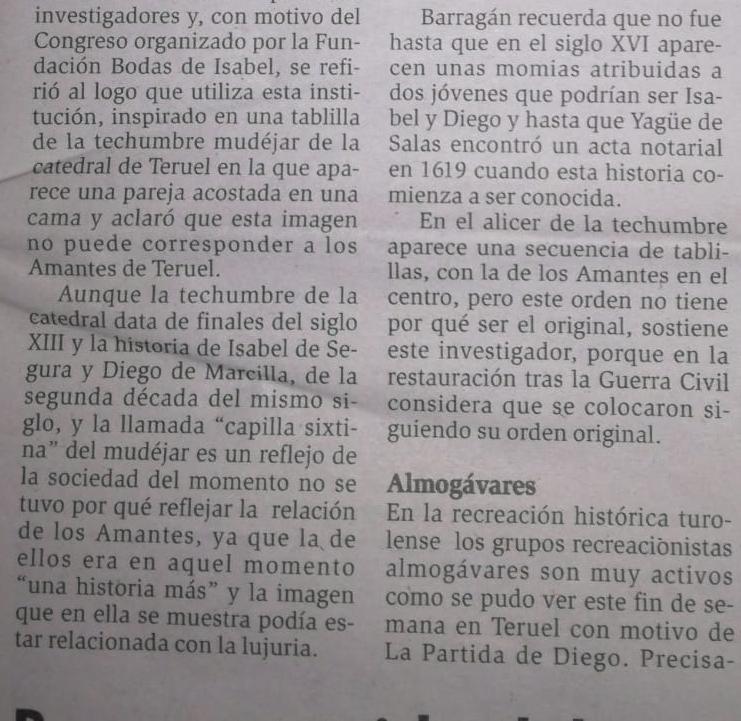 A VUELTAS CON EL ALMOGÁVAR DE ALCAÑIZ 210