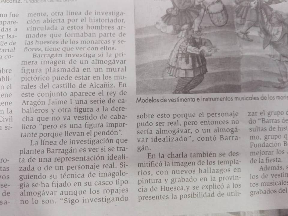 A VUELTAS CON EL ALMOGÁVAR DE ALCAÑIZ 310
