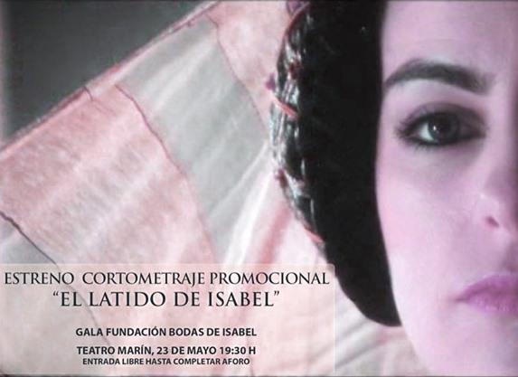 Participación en el Promocional EL LATIDO DE ISABEL Isabel10