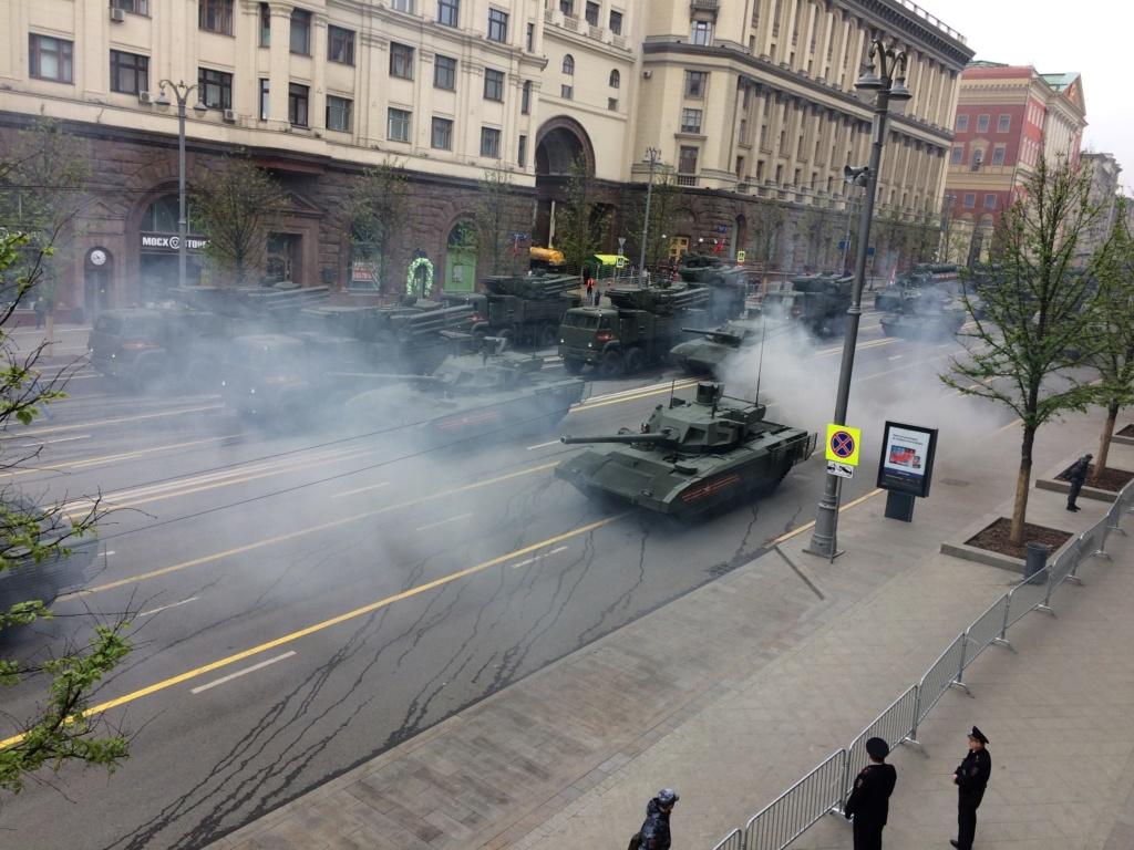 Moscou: défilé de la Victoire 110