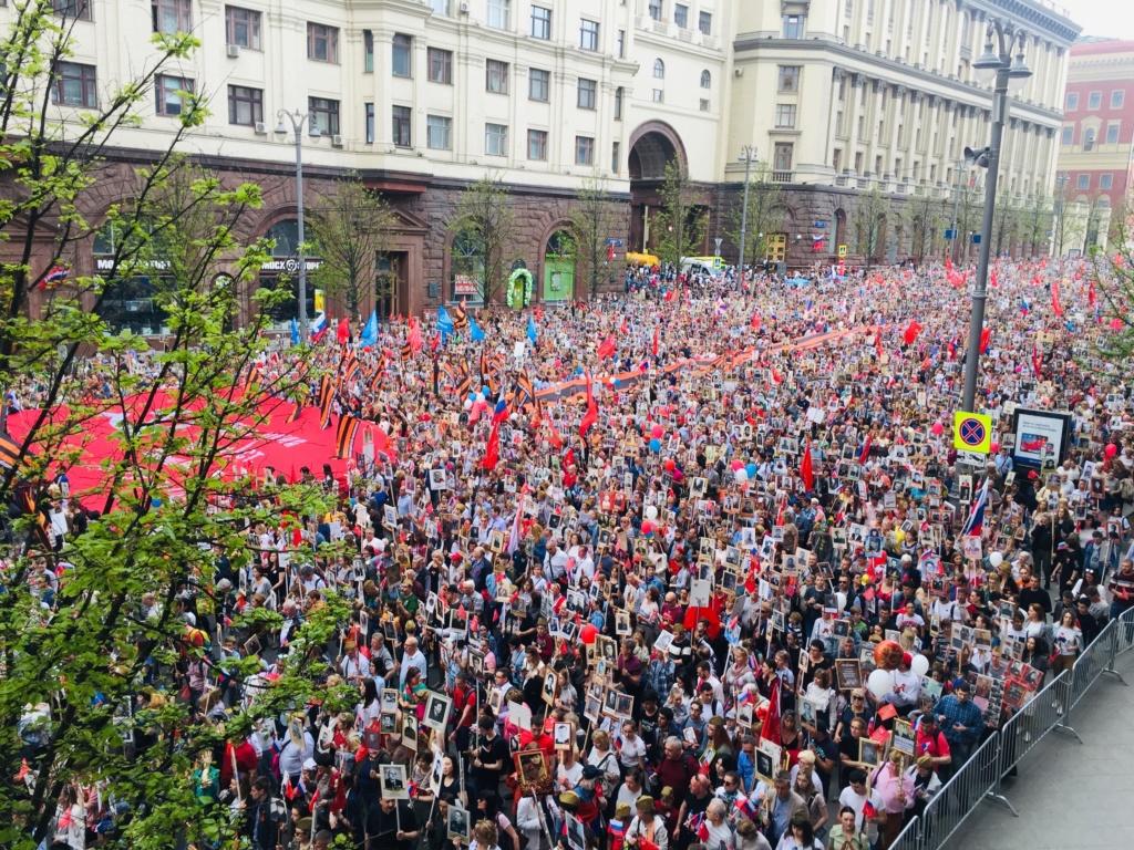 Moscou: défilé de la Victoire 410