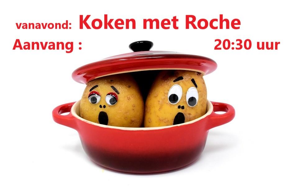 Vr. 1 febr. : Koken met Roche 20:30 uur Koken_10