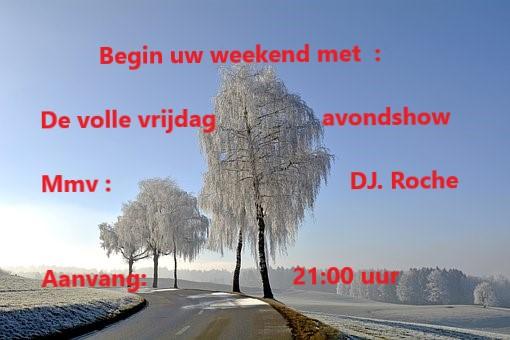 Vrijdag 18 Jan: Roche gaat op pad.  Winter10