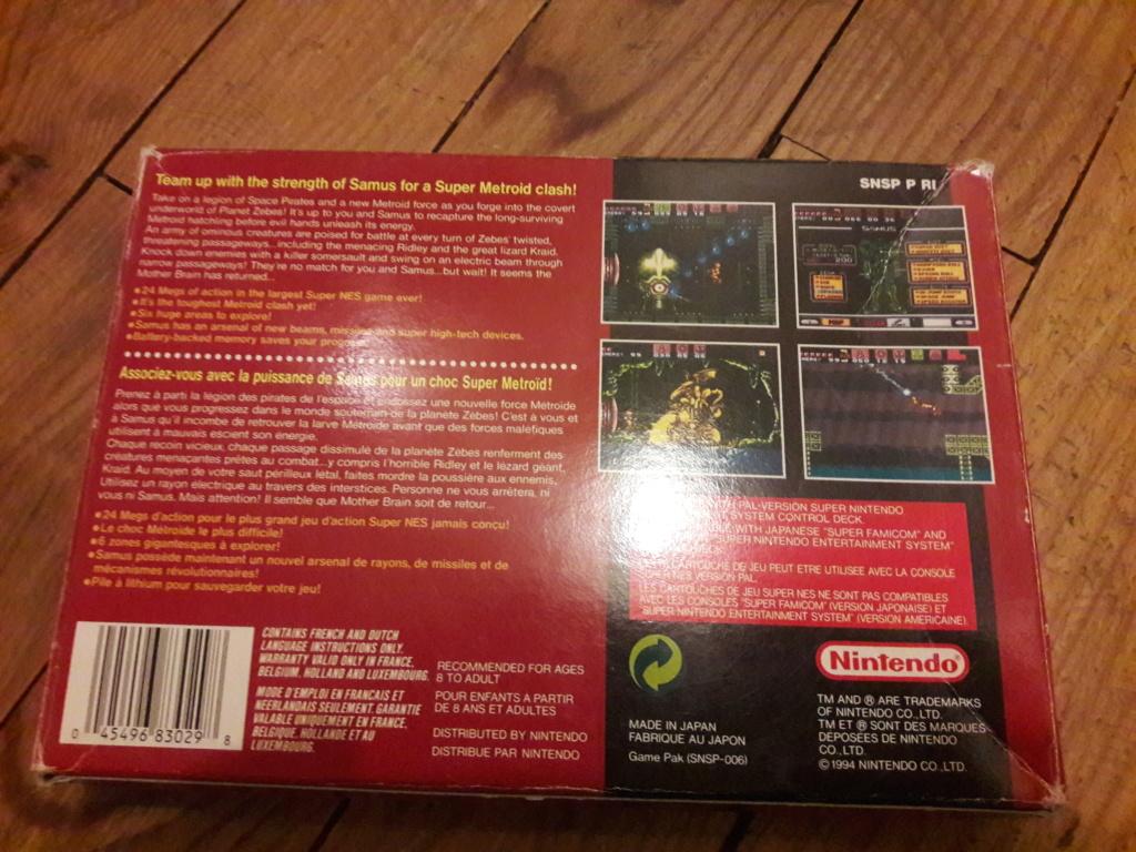 [ESTIM] Zelda Ocarina N64 + Boite SNES Secret of Mana - Super Metroid 20190781