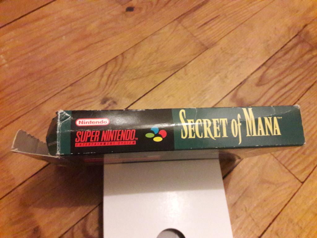 [ESTIM] Zelda Ocarina N64 + Boite SNES Secret of Mana - Super Metroid 20190783