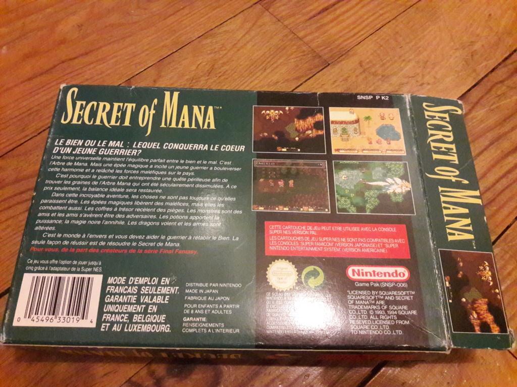 [ESTIM] Zelda Ocarina N64 + Boite SNES Secret of Mana - Super Metroid 20190785