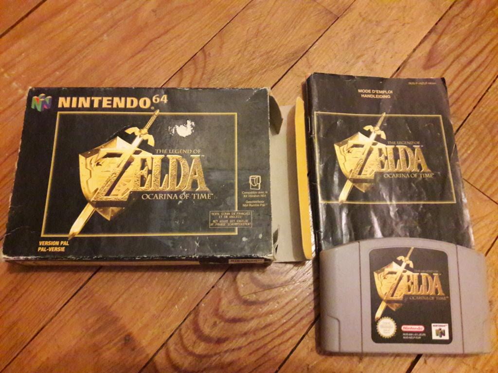 [ESTIM] Zelda Ocarina N64 + Boite SNES Secret of Mana - Super Metroid 20190786