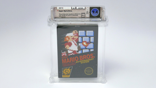 Record de vente pour un jeu vidéo: Super Mario Bros à 100150$ Incont10
