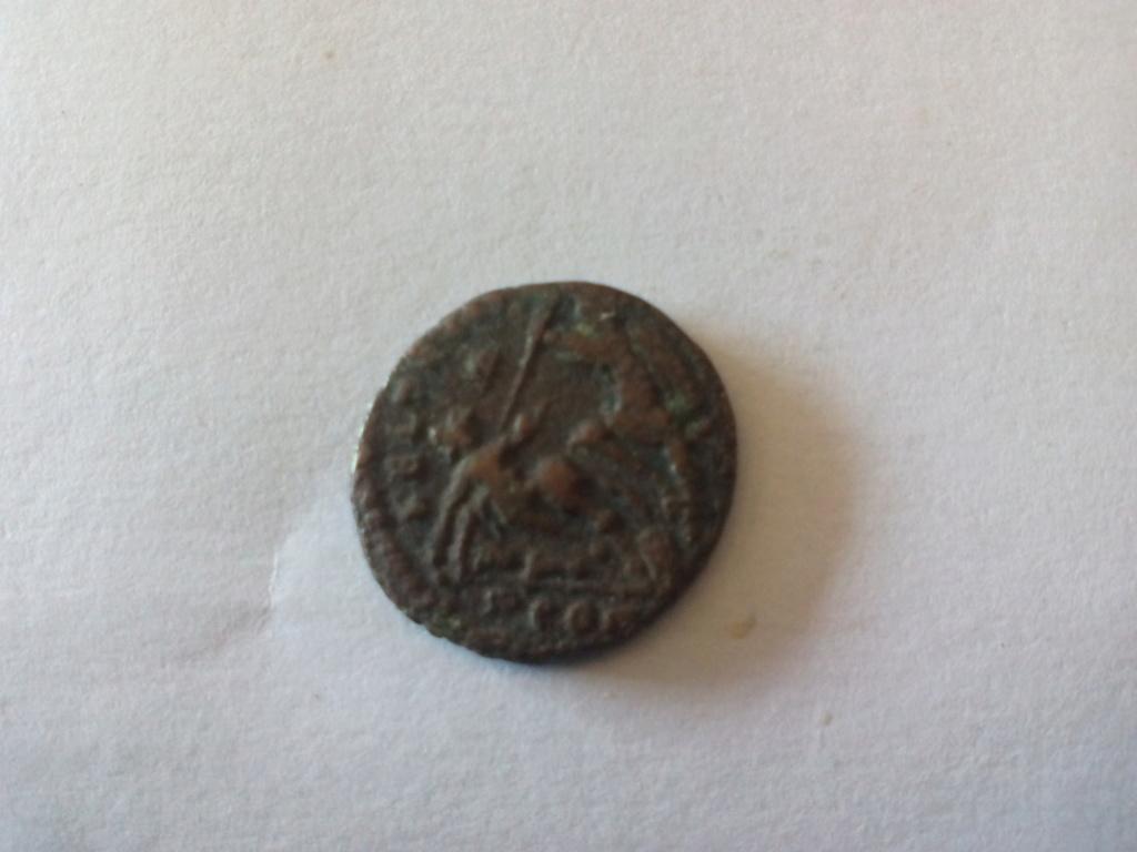 AE4 de Constancio II. FEL TEMP REPARATIO. Arlés 15337323