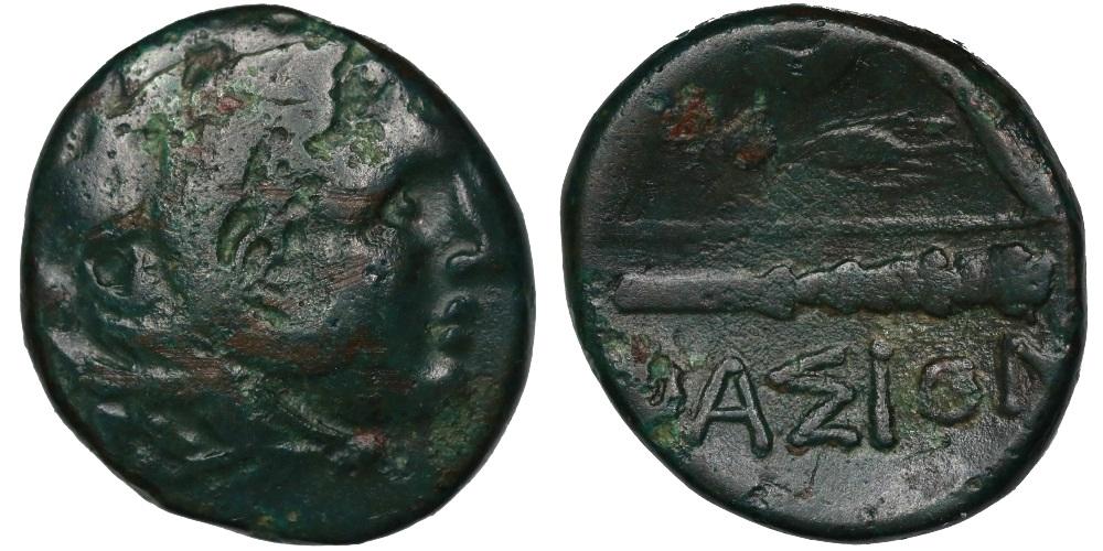 AE20 de Alejandro Magno 1564610