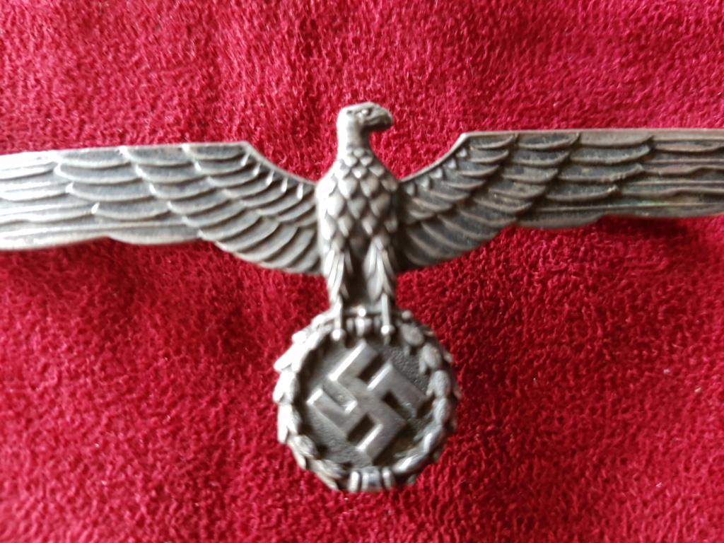 Wehrmacht Metallbrustadler für Offiziere 20180811