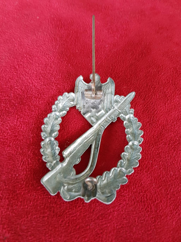 badge de combat d'infanterie 20180821