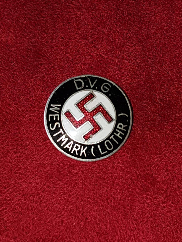 Badge D.V.G. WESTMARK LOTHR A_011910