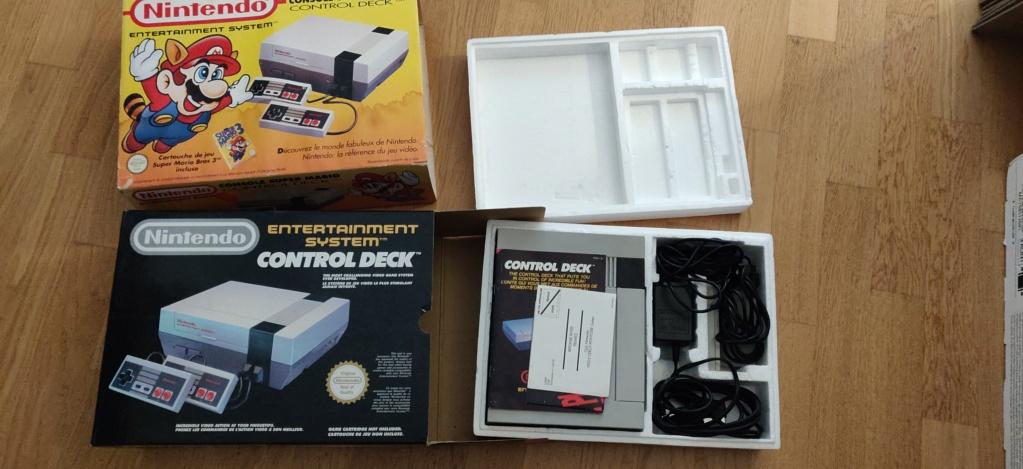[ECH] WII U - WII - Switch - Amiibo - NES en boite Img_2104