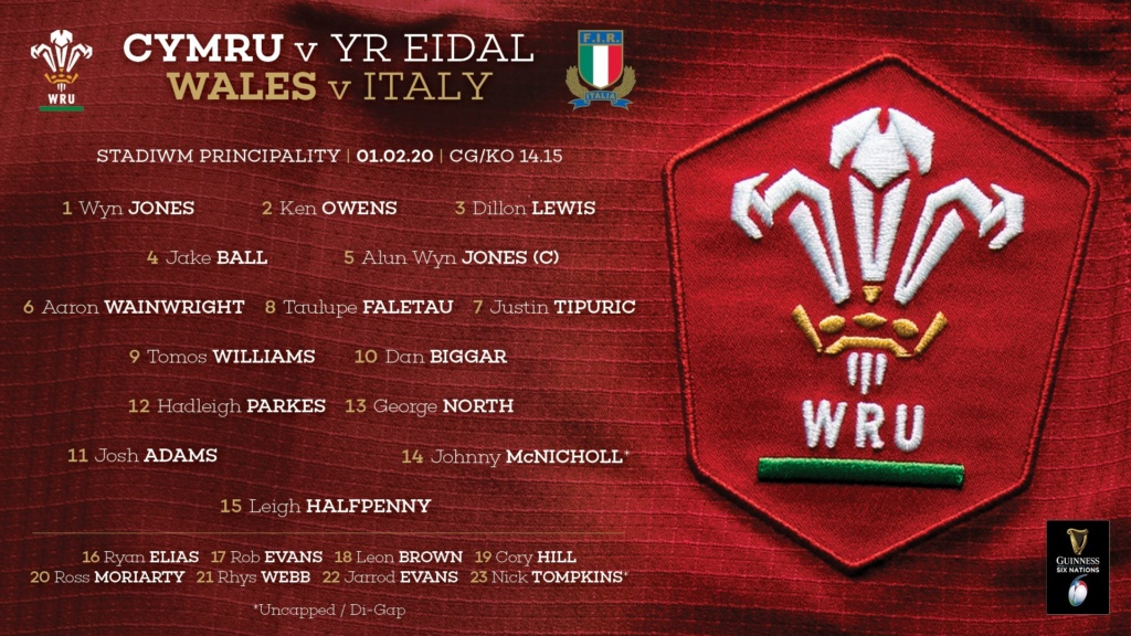 Wales v Italy 6 Nations - Saturday 1st Feb 2020 - match thread  - Page 4 Ephxb010