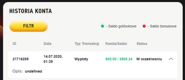 FEZbet  500 pln Wypaat10