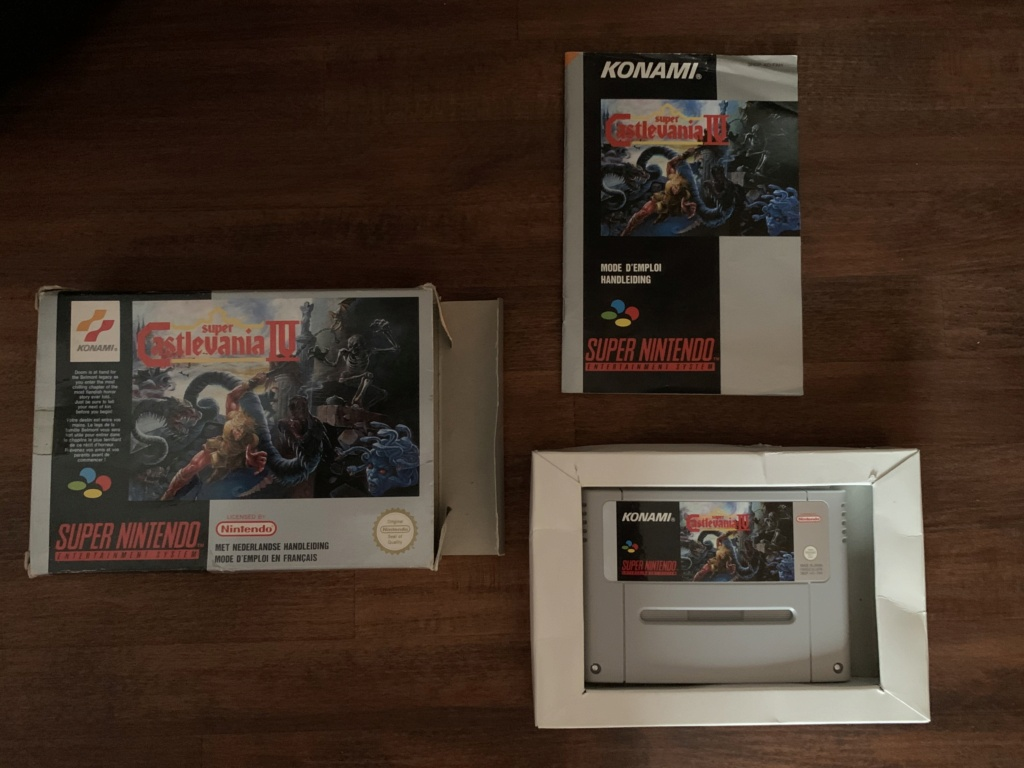 [VENDU] Castlevania IV - et autres jeux Super nes  Be636d10