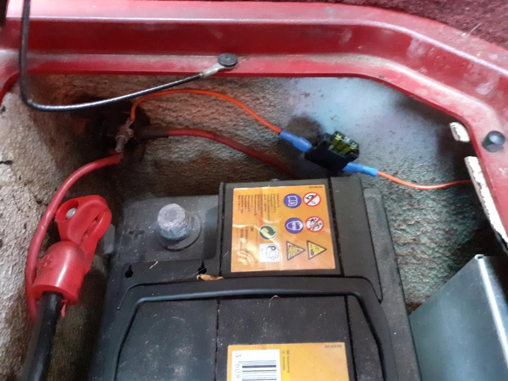 Fusible pompe à essence 1982 20200511