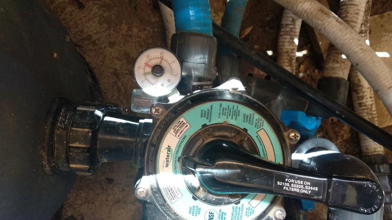 manomètre problème de pression ou pas? Manome11