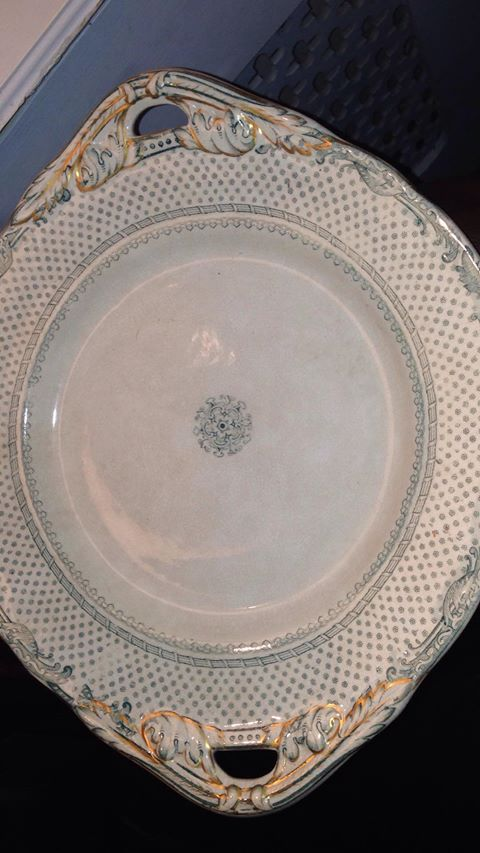 """Napier"" stamp and 4 dot mark on platter - can you ID? 49864910"