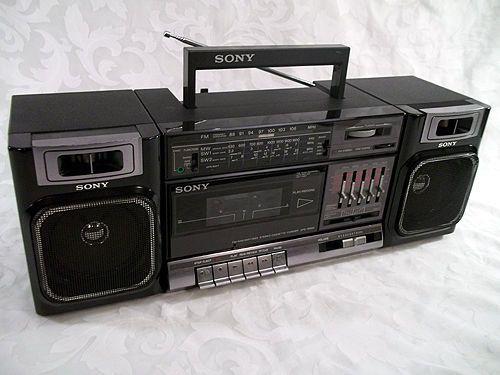 ¿Cuál fue tu primer equipo de sonido? Sony_c11