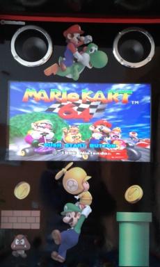 [WIP] borne de jeux super mario 20171112