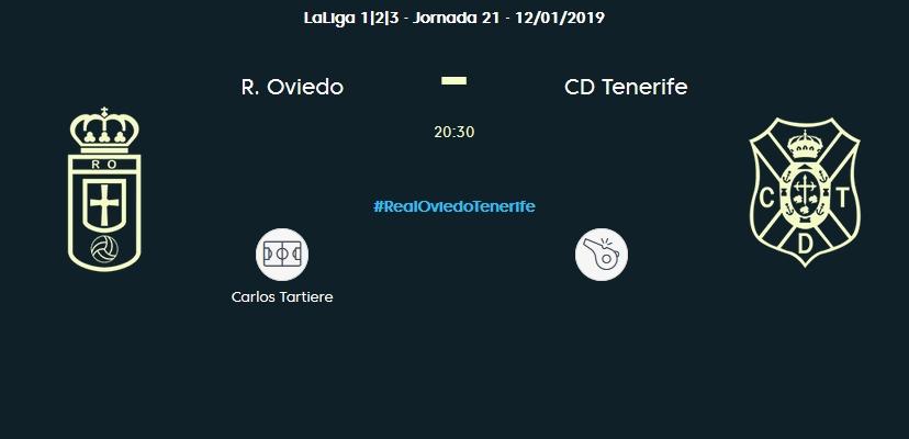 J.21 LIGA 123 TEMPORADA 2018/2019 REAL OVIEDO-CD TENERIFE (POST OFICIAL) 03147
