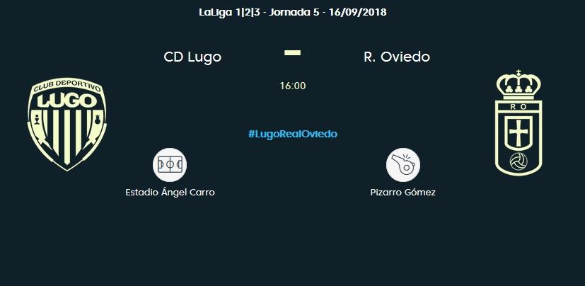 J.5 LIGA 123 2018/2019 CD LUGO-R.OVIEDO (POST OFICIAL) 0355