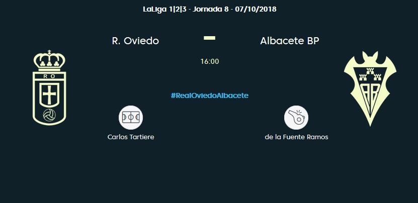J.8 LIGA 123 2018/2019 REAL OVIEDO-ALBACETE BALOMPIE (POST OFICIAL) 0366