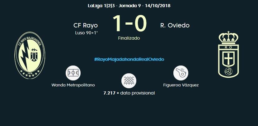J.9 LIGA 123 2018/2019 RAYO MAJADAHONDA-R.OVIEDO (POST OFICIAL) 0375