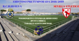 RECRE-SEVILLA AT.PRETEMPORADA (18/19) 0413