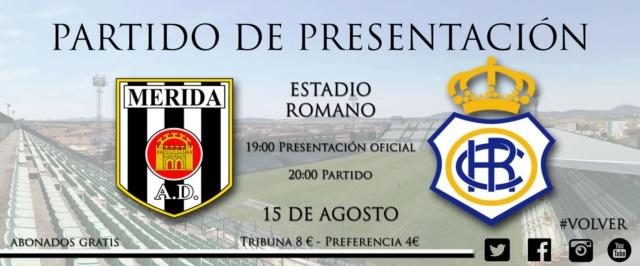 AD MERIDA-RECRE PRESENTACION 18/19 DEL MERIDA (AMISTOSO) 0420