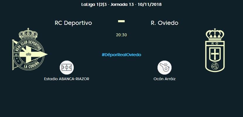 J.13 LIGA 123 TEMPORADA 2018/2019 DEPORTIVO-R.OVIEDO (POST OFICIAL) 0492