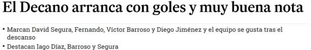 ASI VIERON LOS PERIODICOS EL CARTAYA 0-RECRE 4  0514