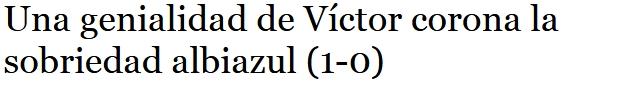 ASI VIERON LOS PERIODICOS EL RECRE 1-CD DON BENITO 0 0525