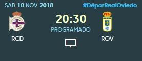 J.13 LIGA 123 TEMPORADA 2018/2019 DEPORTIVO-R.OVIEDO (POST OFICIAL) 0584