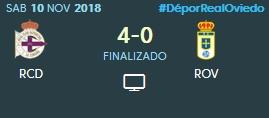 J.13 LIGA 123 TEMPORADA 2018/2019 DEPORTIVO-R.OVIEDO (POST OFICIAL) 0585